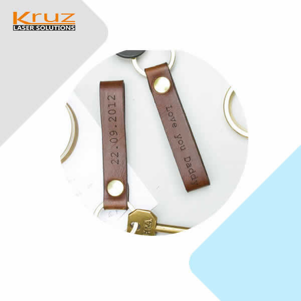leather laser marking